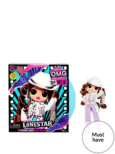 prod1089764691: O.M.G. Remix Lonestar Fashion Doll – 25 Surprises with Music