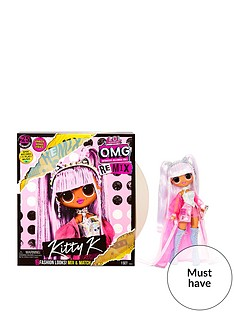 prod1089764690: O.M.G. Remix Kitty K Fashion Doll – 25 Surprises with Music