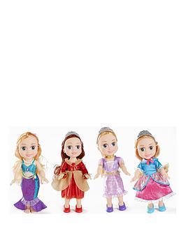 disney-princess-classic-princess-15-toddler-4-pack-dolls-bundle