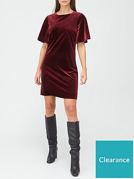 v-by-very-velvet-shift-dress-burgundy