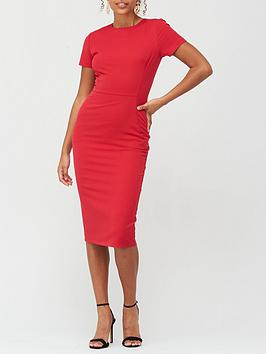 v-by-very-confident-curvenbspround-neck-midi-dress-red