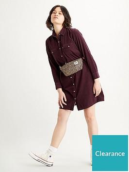levis-selma-dress--nbspmaroon