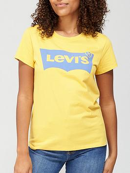 levis-the-perfect-t-shirt-yellow