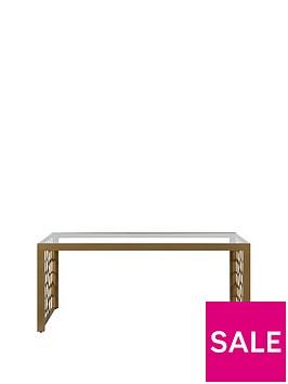 cosmoliving-by-cosmopolitan-juliette-glass-top-coffee-table--nbspsoft-brass