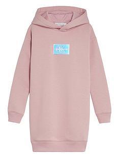 calvin-klein-jeans-girls-monogram-badge-hoodie-dress-pink