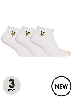 lyle-scott-ross-3-pack-trainer-sock-white