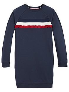tommy-hilfiger-girls-ruffle-rib-sweat-dress-navy