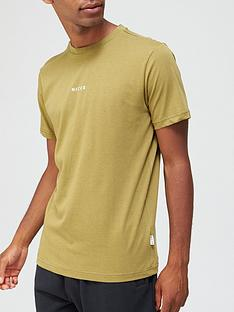 nicce-mini-centre-logo-t-shirt-olive