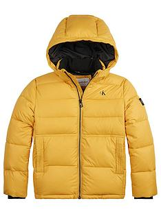 calvin-klein-jeans-essential-padded-jacket-yellow