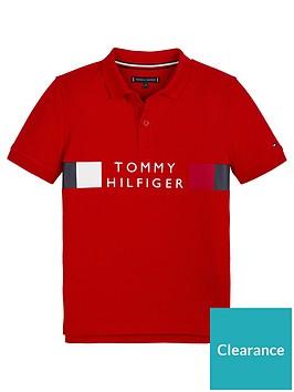 tommy-hilfiger-boys-short-sleeve-global-stripe-polo-red