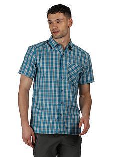 regatta-mindano-short-sleeve-shirt-teal
