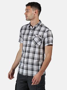 regatta-ramiro-short-sleeve-shirt-grey
