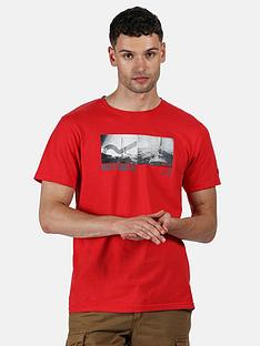 regatta-cline-t-shirt-red
