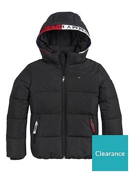 tommy-hilfiger-boys-essential-padded-flag-hood-coat-black