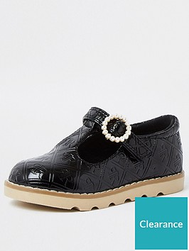 river-island-mini-girls-patentnbspshoes--nbspblack