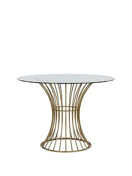 cosmoliving-by-cosmopolitan-westwood-1067-cm-circularnbspglass-top-dining-table