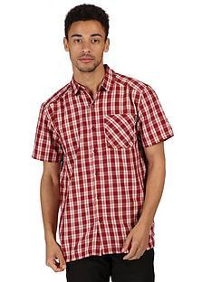 regatta-mindano-short-sleeve-shirt-redwhite