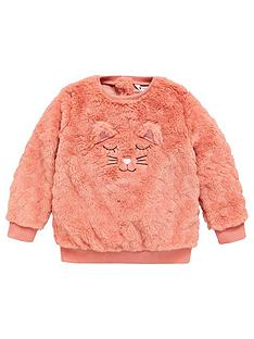 mini-v-by-very-girls-cat-applique-fluffy-sweatshirt-pink