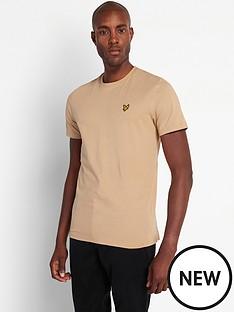 lyle-scott-plain-t-shirt-beige