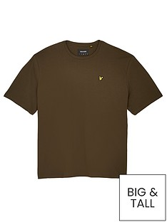 lyle-scott-big-amp-tall-t-shirt-khakinbsp