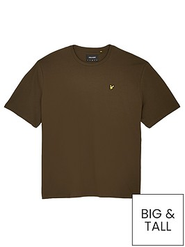 lyle-scott-big-amp-tall-t-shirt-khakinbsp