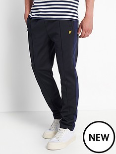 lyle-scott-tricot-sweat-pant-with-side-stripe-navy