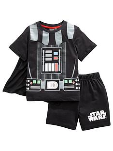 star-wars-boys-star-wars-novelty-shortie-pjs-black