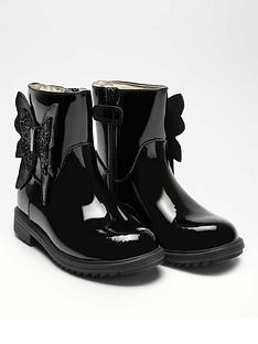 lelli-kelly-girlsnbspeneva-butterfly-ankle-boot-black-patent