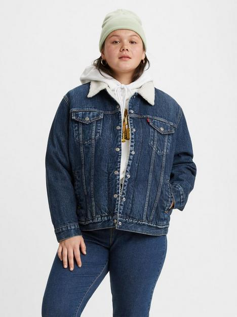 levis-plus-ex-bf-sherpa-trucker-jacket-blue
