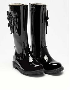 lelli-kelly-girlsnbspmaggie-knee-boot-black-patent