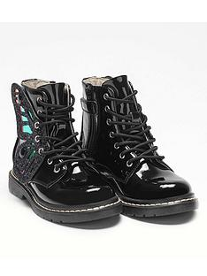 lelli-kelly-girlsnbspfairy-wings-ankle-boot-black-patent