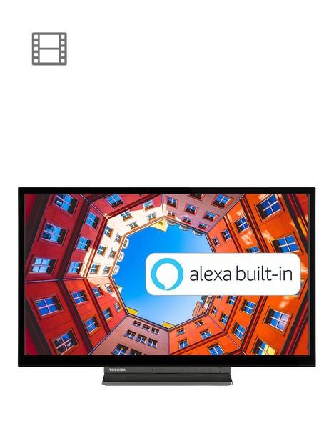 toshiba-24wk3a63db-24-inch-hd-ready-saorview-smart-tv-with-alexa