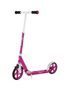 razor-a5-lux-scooter-with-anodised-aluminium-frame-pink