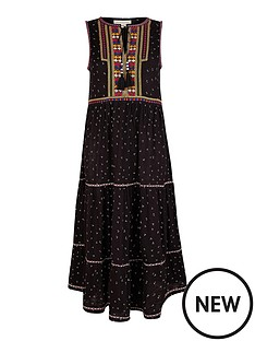monsoon-malakai-embroidered-jersey-midi-dress-black