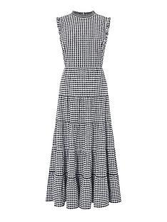 monsoon-gingham-organic-cotton-tiered-midi-dress-black