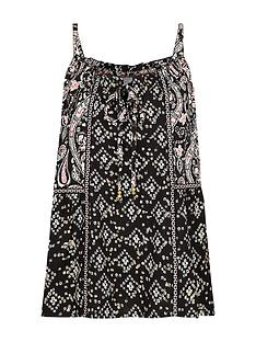monsoon-foil-print-sustainable-viscose-cami-black