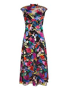 monsoon-bonnie-floral-burnout-print-dress-black