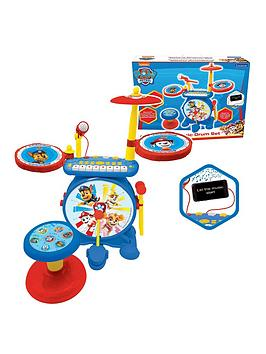 lexibook-my-rock-band-paw-patrol-complete-drums-set-with-seat