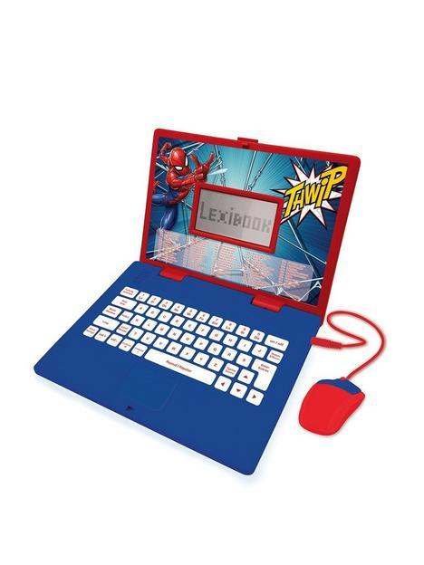 lexibook-spider-man-educational-laptop-124-activities
