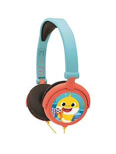 lexibook-baby-shark-stereo-wired-foldable-headphones-with-kids-safe-volume