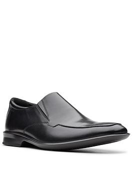 clarks-bensley-step-leather-shoes-black