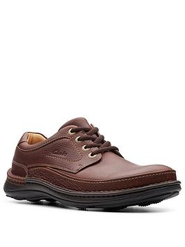 clarks-nature-three-leather-shoes-mahogany
