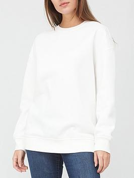 v-by-very-the-longline-crew-neck-sweat-off-white