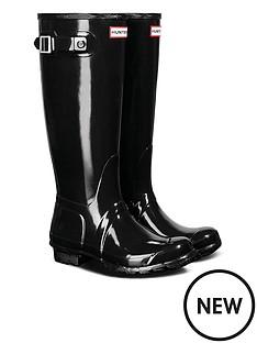 hunter-womens-original-tall-gloss-welly-boots-black