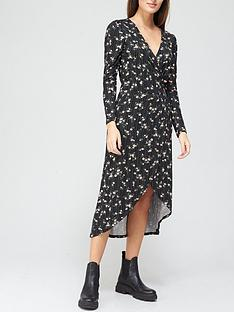 v-by-very-wrap-midi-dress-ditsy-floral