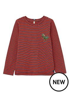 joules-boys-island-dino-long-sleeve-t-shirt-orange