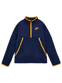 nike-boys-nsw-sportswearnbspwinterized-half-zip-top-navy