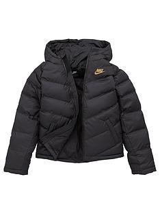nike-unisex-nsw-synthetic-fill-jacket-black-gold