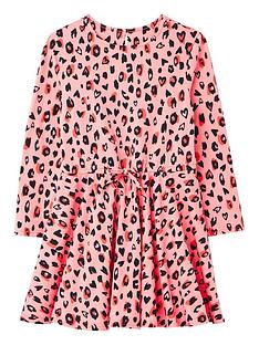 joules-girls-fiona-leopard-print-jersey-dress-pink