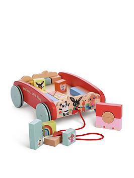 bing-bing-pull-along-woodennbspcart-with-blocks